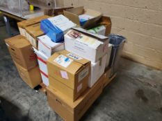 Skid Lot of Various Consumables