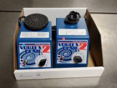 (2) Scientific Industries Vortex Genie 2 Vortexers