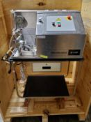 2010 Microfluidics M-110P Bench Top Microfluidizer