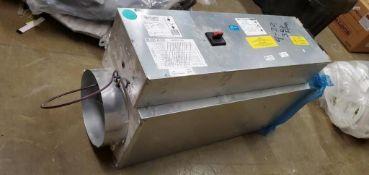 Kruger Model LMHS 1770 CFM Inline Duct Heater