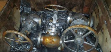 Skid of (6) Dixon Eagle Industrial Valves - Size 4