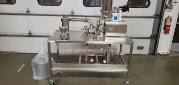 "8"" Jet Mill w/ K-Tron Volumetric Feeder"" Stainless Steel Construction"