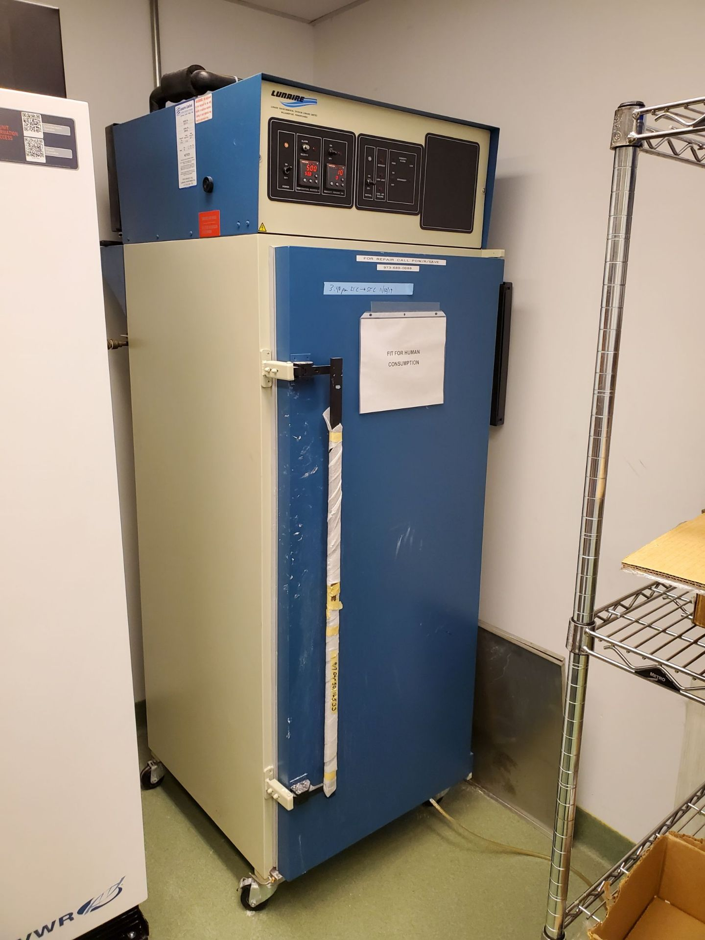Lunaire Ltd Stability And Shelf Life Test Chamber
