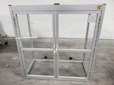 """50"""" Maytech Glass Airvent Cabinet"""
