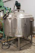 Crepaco Jacketed Stainless Steel Tank