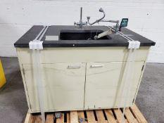 """48"""" x 30"""" Lab Sink, with Eye Wash"""