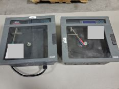 (2) Chessell Chart Recorders, Model 392