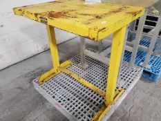 """26"""" x 36"""" Battery Handling Systems Table, C/S"""