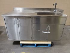 Stainless Steel Bench/Sink