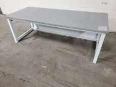 """72"""" x 30"""" Stone Top Table"""