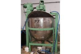 Stainless Steel Jacketed Kettle Approx 500