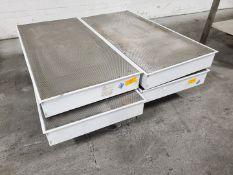HEPA Filter Cabinet, (4) units