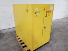 Eagle 55 Gal Flammable Storage Cabinet, Model 2810