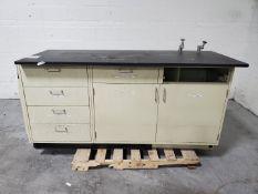 "73"" x 30"" Laboratory Workbench"