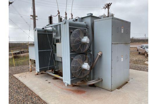 GE Prolec Substation Transformer 10000 11200 KVA 34,500 4160/2400