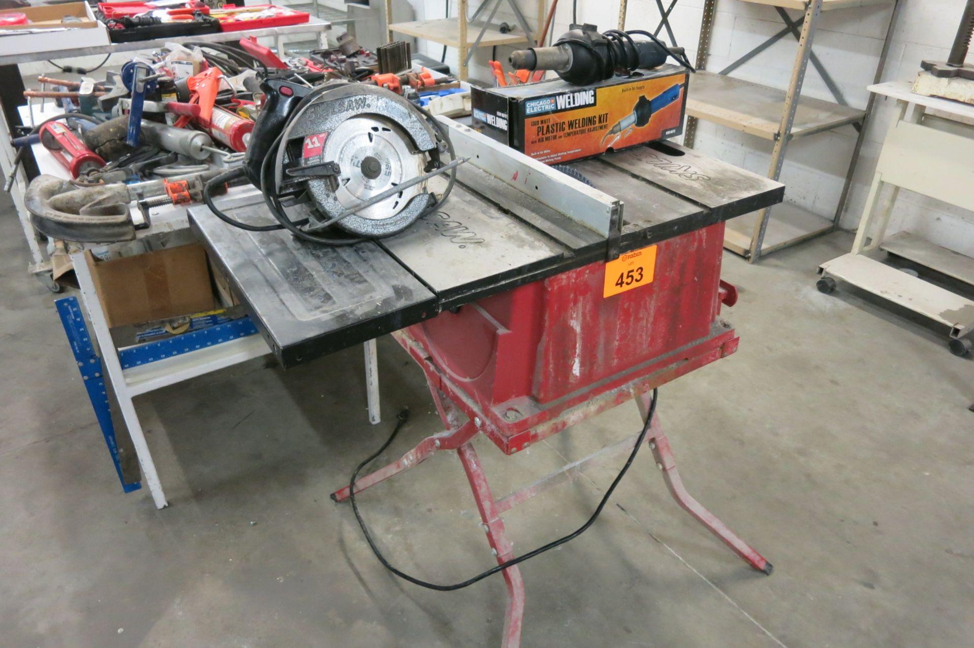 Lot 453 - Shop Equipment