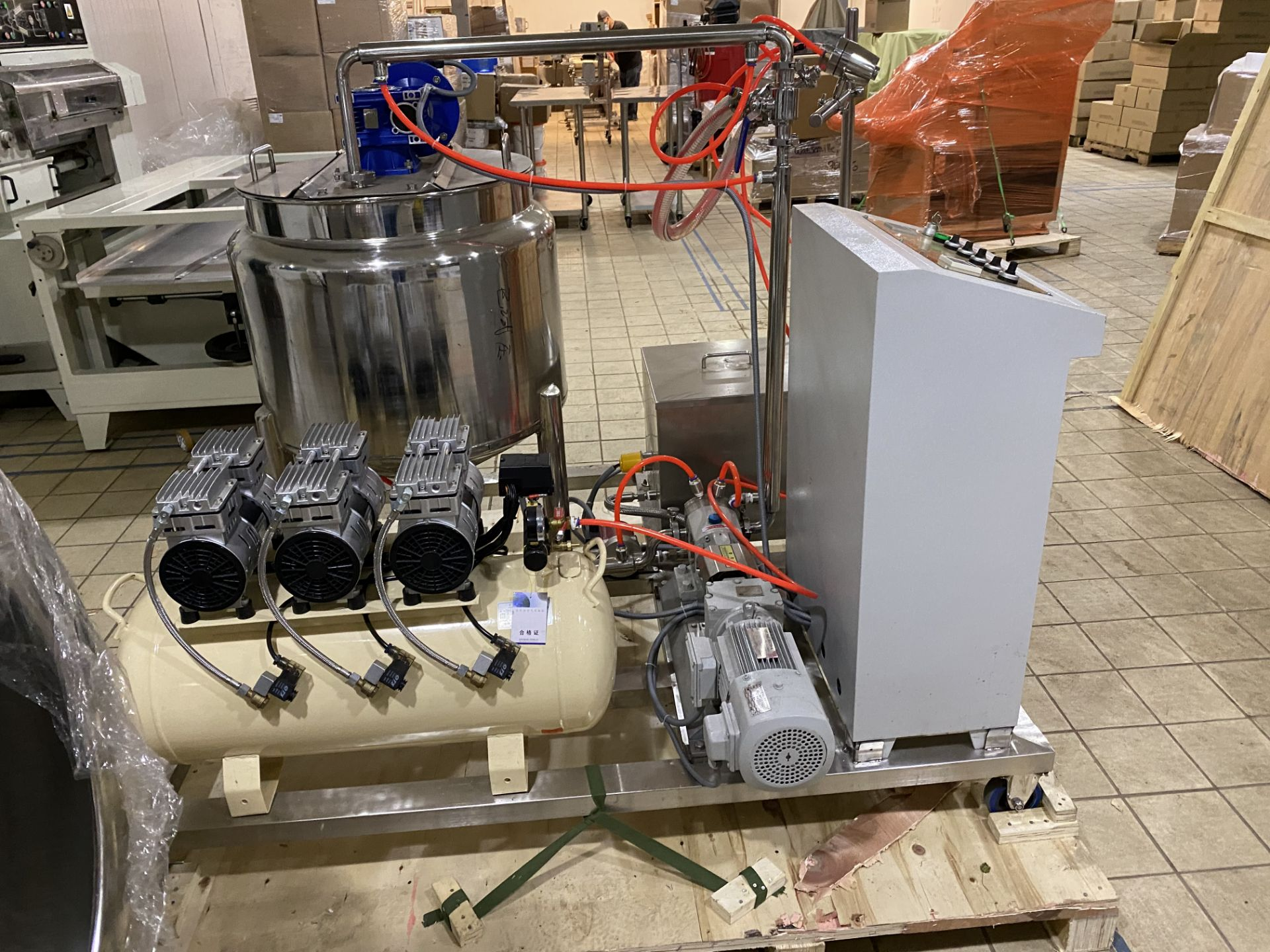 Lot 105 - Coating Spray System
