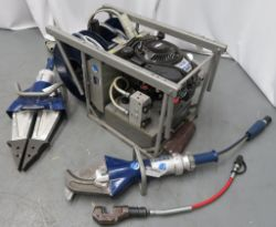 Lukas Jaws Of Life Fire & Rescue Hydraulic Cutting System Complete With Attachments