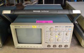 Tektronic TDS 420 Oscilloscope.