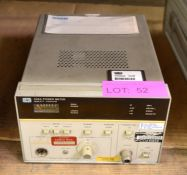 Hewlett Packard 436A Power Meter.