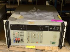 Fluke 5100B Calibrator.