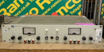 Hewlett Packard 6253A Dual DC Power Supply.