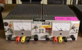 Elind 32DP8 Dual Power Supply.