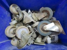 QTY OF ASSORTED INDUSTRIAL CASTORS