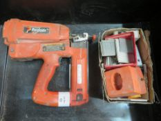 PASLODE MODEL IM250 11 NAILER C/W QTY OF NAILS