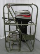 Mariner 20 HP Long shaft 2 stroke outboard.