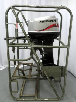 Marine Auction To Include Mariner & Yamaha Outboard Motors, Sonar DNS 300 Device & Navigator LBL Kit