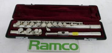 Yamaha 411 Flute Complete With Case.