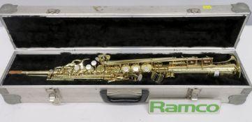 Henri Selmer Super Action 80 Serie 2 Soprano Saxophone Complete With Case.