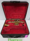 Besson Sovereign BE928 Cornet Complete With Case.