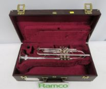 Besson International 713 Trumpet Complete With Case.
