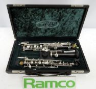 Howarth Of London S40c Oboe Complete With Case.