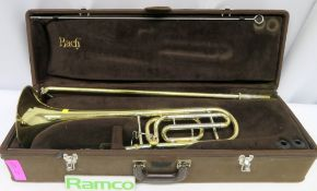 Vincent Bach Stradivarius 42 Tenor Trombone Complete With Case.