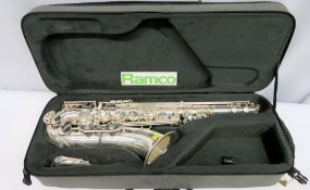 Henri Selmer Super Action 80 Serie 2 Tenor Saxophone Complete With Case.