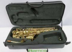 Henri Selmer Super Action 80 Serie 2 Alto Saxophone Complete With Case.