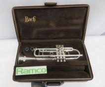Vincent Bach Stradivarius 43 Trumpet Complete With Case.