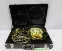 Yamaha YHR 668D French Horn Complete With Case.