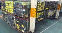 One Artic Lorry Load Of Ex MoD M2A1 Ammunition Containers - 48 Pallets - Quantity 5760 Boxes