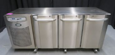 Foster 3 door undercounter fridge