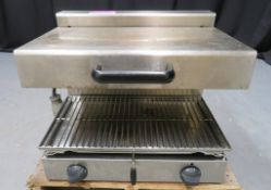 Contact grill, 1 phase electric
