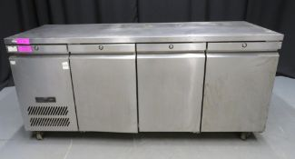 Williams HJC3SAS 3 door undercounter fridge