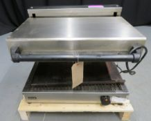 Lincat contact grill, 1 phase electric