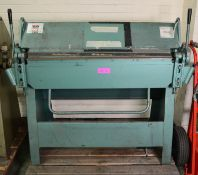 Selson Machine Tool Co Univfolder Model uc 316.