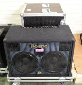 Roland KC-880 Stereo Mixing Keyboard Amplifier + Case.