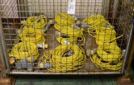 18x Blakley Extension Cable IP67 110v 16A 2P-E.
