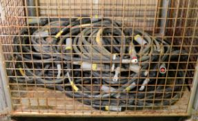 Various Lengths Of 95mm2 Electrical Cable.